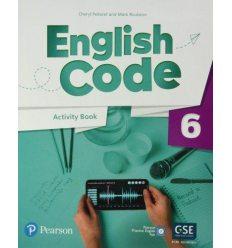 English Code British 6 Workbook 9781292322865