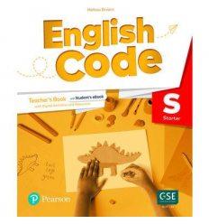 English Code British Starter Teachers book 9781292354507