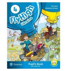Fly High 4 Students book +CD UKRAINE 9788378827313