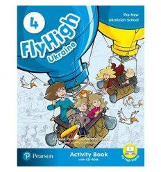 Fly High 4 Workbook +CD UKRAINE 9788378827337