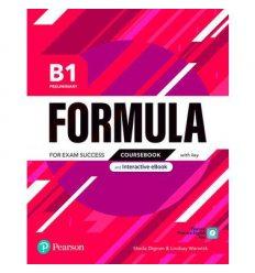 Formula B1 Preliminary Students book +key 9781292391335