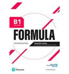 Formula B1 Preliminary Teachers book +Presentation Tool 9781292391380