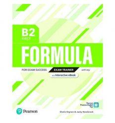 Formula B2 First Exam Trainer +key 9781292391434