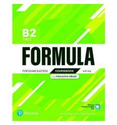 Formula B2 First Students book +key 9781292391410