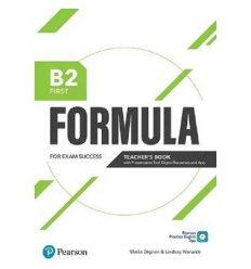 Formula B2 First Teachers book +Presentation Tool 9781292391458