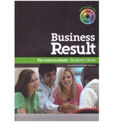 Учебник Business Result Pre-Intermediate Students Book & DVD-ROM Pack