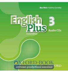 English Plus 2nd Edition 3 Class Audio CDs