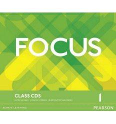 Focus 1 Class Audio CDs ISBN 9781447997559-L