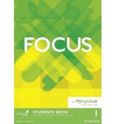 Книга Focus 1 Students Book with MyEnglishLab ISBN 9781292110035