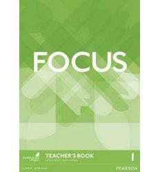 Книга для учителя Focus 1 teachers book + DVD-ROM ISBN 9781292110042