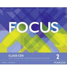 Focus 2 Class Audio CDs ISBN 9781447997764-L