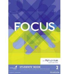 Учебник Focus 2 Students Book with MyEnglishLab ISBN 9781292110059