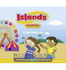 Диски для класса Islands Starter Class Audio Cds ISBN 9781447924678