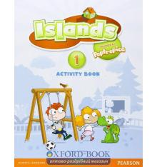 Islands 1 Activity Book with pincode
