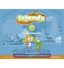 Диски для класса Islands 1 Class Audio Cds ISBN 9781408289891