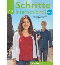 Учебник Schritte international Neu 1 Kursbuch + Arbeitsbuch + CD zum Arbeitsbuch ISBN 9783193010827