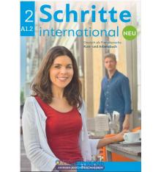 Учебник Schritte international Neu 2, Kursbuch+AB+CD z.AB ISBN 9783196010824