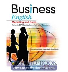 Учебник Bussiness English Marketing and Sales Students Book ISBN 9781846799938 купить Киев Украина