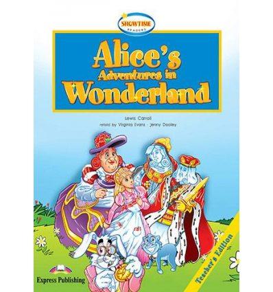 Книжка для вчителя Alices Adventure in Wonderland Teachers Book ISBN 9781846791499