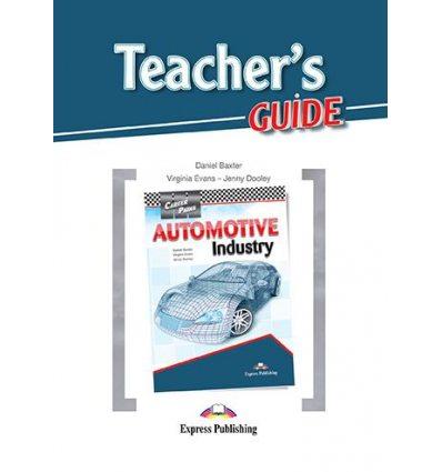Книжка Career Paths Automotive Industry Teachers Guide ISBN 9781471553325