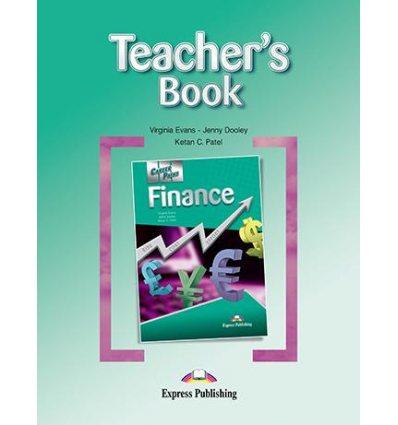 Книжка для вчителя Career Paths Finance Teachers Book ISBN 9781780986463