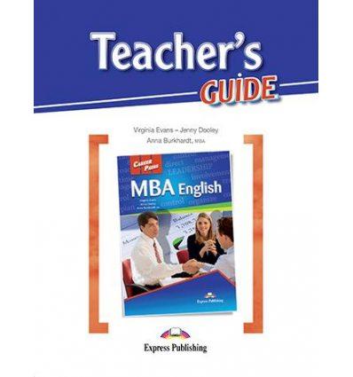 Книжка Career Paths MBA English Teachers Guide ISBN 9781471537950