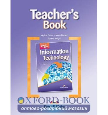 Книжка для вчителя Career Paths Information Technology Teachers Book ISBN 9780857776419