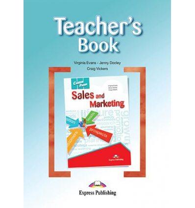 Книжка для вчителя Career Paths Sales and Marketing Teachers Book ISBN 9781471541049