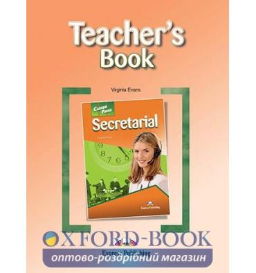 Книжка для вчителя Career Paths Secretarial Teachers Book ISBN 9780857778611