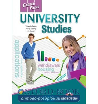 Підручник Career Paths University Studies Students Book ISBN 9781471545498