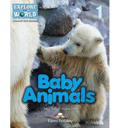 Книжка Baby Animals Reader ISBN 9781471532634