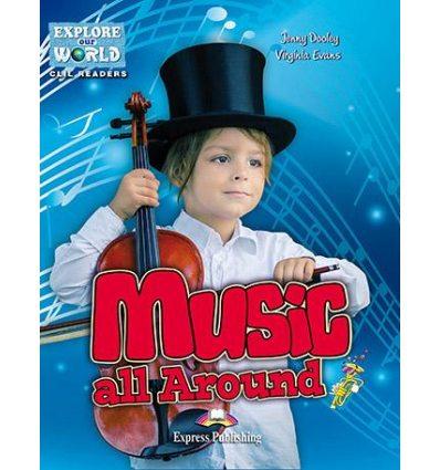 Книжка Music All Around Reader ISBN 9781471540097