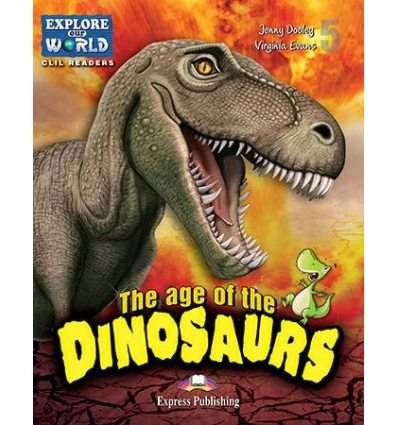 Книжка The Age of the Dinosaurs Reader ISBN 9781471533037