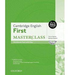 Cambridge English First Masterclass Workbook with key and MultiROM