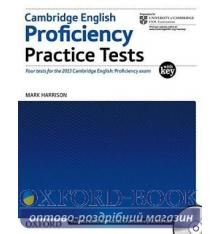 Cambridge English Proficiency Practice Tests with key and Audio CDs