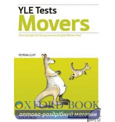 Учебник Cambridge YLE Tests Movers students book with TB and Audio CD 9780194577182 купить Киев Украина