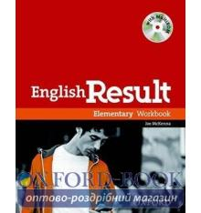 Рабочая тетрадь English Result Elementary Workbook with key and MultiROM ISBN 9780194304986