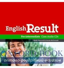 English Result Pre-Intermediate Class CDs ISBN 9780194305112