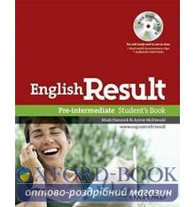 Учебник English Result Pre-Intermediate Students Book with DVD ISBN 9780194129558