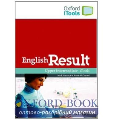 Ресурсы для доски English Result Upper-Intermediate iTools DVD-ROM ISBN 9780194300445
