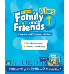 Family and Friends 1 Plus Grammar and Vocabulary Builder 2nd Edition 9780194403429 купить Киев