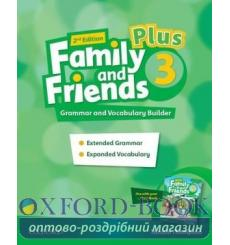 Family and Friends 3 Plus Grammar and Vocabulary Builder 2nd Edition 9780194403443 купить Киев