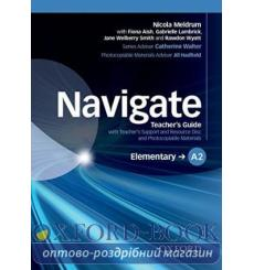 Книга Navigate Elementary A2 Teachers Guide with Teachers Support and Resource Disc ISBN 9780194566414 купить Киев Украина