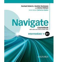 Navigate Intermediate B1+ Class Book with DVD and Online Skills