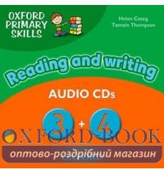 Oxford Primary Skills Reading and Writing 3 and 4 Audio CDs 9780194674058 купить Киев Украина