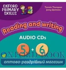 Oxford Primary Skills Reading and Writing 5 and 6 Audio CDs 9780194674034 купить Киев Украина