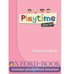 Книга для учителя Playtime Starter Teachers Book ISBN 9780194046596 купить Киев Украина