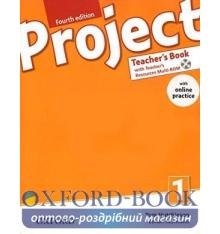 Книга для учителя Project 4th Edition 1 Teachers Book with Teachers Resources MultiROM and Online Practice ISBN 9780194704045