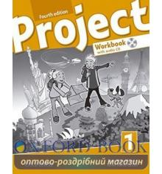 Рабочая тетрадь Project Fourth Edition 1 workbook & CD & ONL PRAC PK ISBN 9780194762885