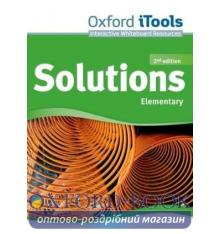 Solutions Elementary Second Edition: iTools DVD-ROM